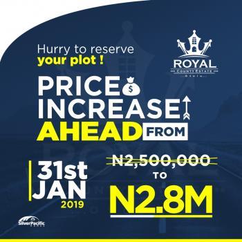 Royal County Estate, Otoolu/igbo Olomi, 10 Minutes Drive From Lekki Free Trade Zone, Ibeju Lekki, Lagos, Residential Land for Sale