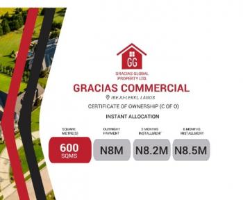 Gracias  Commercial (promo), By Dangote Refinery, Okunraiye, Ibeju Lekki, Lagos, Commercial Land for Sale