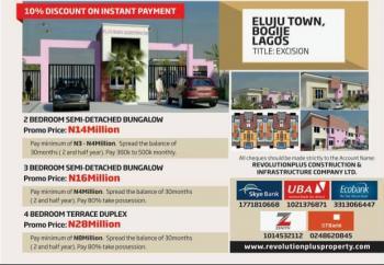 Flourish Residences, Bogije, Ibeju Lekki, Lagos, Semi-detached Bungalow for Sale