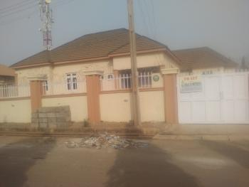 3 Bedroom Detached Bungalow (compound Has Bq Already Occupied By Tenants), First Generation Estate, Lokogoma District, Abuja, Detached Bungalow for Rent