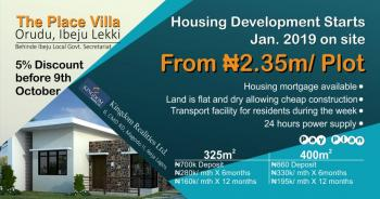 D Place Villa, Ibeju Lekki, Ibeju Lekki, Lagos, Land for Sale