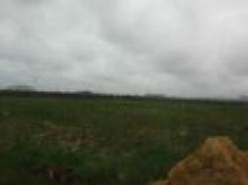 Dry Bare Land Measuring 8000sqm (2 Acres) Facing Expressway, After Lagos Business School, Sangotedo, Ajah, Lagos, Commercial Land for Sale