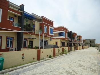 Upgraded 4 Bedroom Terrace Apartment, Buena Vista Estate, Lafiaji, Lekki, Lagos, Terraced Duplex for Rent
