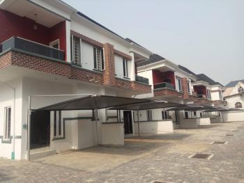 Brand New State of The Art 4 Bedroom Duplex with Excellent Finishing, Osapa, Lekki, Lagos, Semi-detached Duplex for Sale