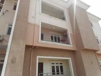 a Nicely Finished 3 Bedroom Apartment with an Attached Bq, 2 Living Rooms Etc, Guzape District, Abuja, Flat for Rent