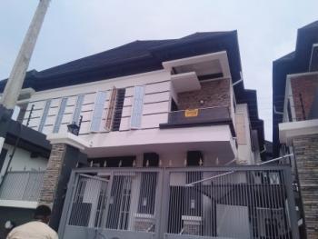 Well Built Four Bedroom Semi Detached House, Chevy View Estate, Lekki, Lagos, Semi-detached Duplex for Sale