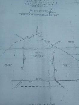 2500sqm of Residential Land, Close to Rotimi Amechis House, Asokoro District, Abuja, Residential Land for Sale