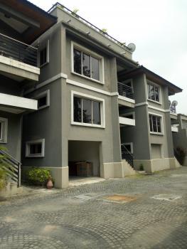 Luxury 4 Bedroom Terrace Duplex with a Bq, Off Admiralty, Lekki Phase 1, Lekki, Lagos, Terraced Duplex for Sale