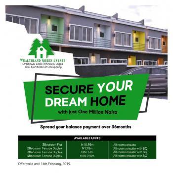 Wealthlands Green Estate, Lekki Pennisula, Oribanwa, Ibeju Lekki, Lagos, Terraced Duplex for Sale