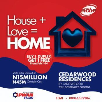 Cedarwood Residences, By Lakowe Golf Course, Lakowe, Ibeju Lekki, Lagos, Detached Duplex for Sale