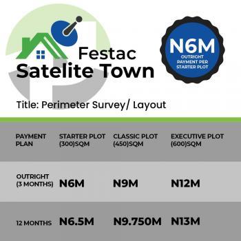 Land for Sale in Satellite Town, Behind Chevron Estate, End of Peter Ihemesi Street, Satellite Town, Ojo, Lagos, Residential Land for Sale