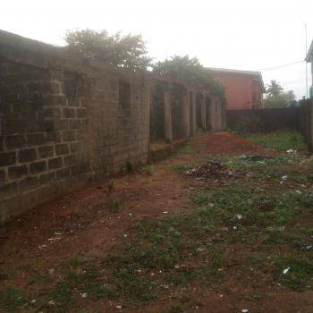 Full Plot of Land with 2 Units of 3 Bedroom Flat Up to Lintel Level, Victory Estate, Idimu-ejigbo Road, Alimosho, Lagos, Land for Sale
