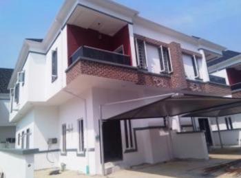 Brand New Serviced 4 Bedroom Duplex with a Room Bq, Osapa, Lekki, Lagos, Semi-detached Duplex for Rent