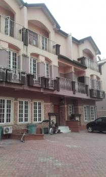 Spacious Serviced 4 Bedrooms Terrace Duplex with 1 Room Bq, Mende Villa Estate, Mende, Maryland, Lagos, Terraced Duplex for Rent