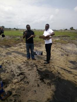 Dry Estate. It Is Fenced and Free From Omonile. Just Whatsapp Or Call Me Now. No Form of Hidden Fee. Land Selling Company, It Is Facing The Tarred Road in That Area. It Is Facing The Tarred Road. Free Transportation for Inspection From Our Office to See The Land and Back to The Office, Ibeju Lekki, Lagos, Residential Land for Sale