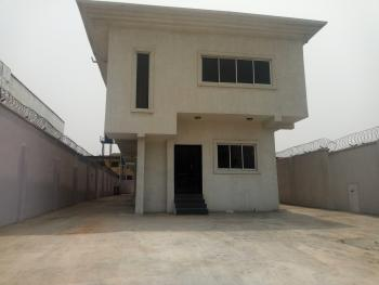 Open Floor Floor Plan  of a Duplex, Ogunusi Road, Omole Phase 1, Ikeja, Lagos, Office Space for Rent