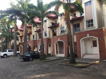 3 Bedroom En Suite Terrace Duplex with Two Sitting Rooms and a One Room Bq Located in a Serviced Estate, Ndjamena Street, Wuse 2, Abuja, Terraced Duplex for Sale