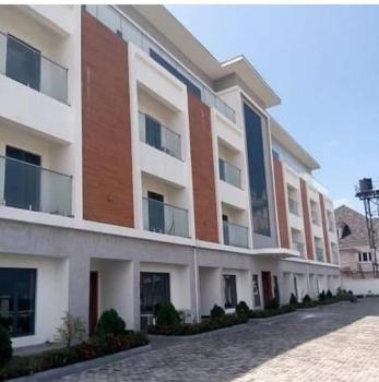 Distress Sale  Newly Built 4 Bedroom Terrace Duplex with Fitted Kitchen, Gym, and Water Treatment, Phase 2, Osborne, Ikoyi, Lagos, Terraced Duplex for Sale