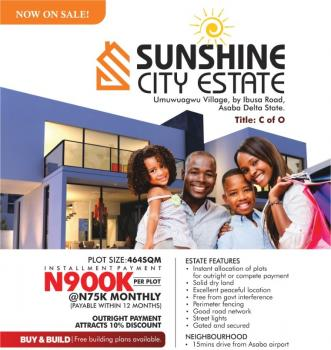 Sunshine City  (buy &build), Asaba, Delta, Land for Sale