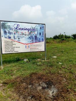 Lexington Gardens, Ajayi Apata Estate, Behind Fara Park 11, Sangotedo, Ajah, Lagos, Residential Land for Sale