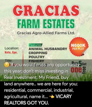 Looking for a Farmland for Your Agricultural Plans? Im Happy to Bring This to You Today. It Is Strictly for Agricultural Purpose., Ketu, Epe. (strictly Agricultural Land), Epe, Lagos, Commercial Land for Sale