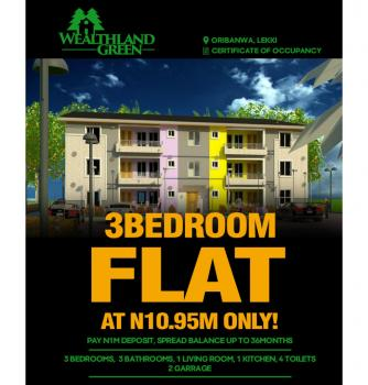 3 Bedroom Duplex, All Ensuite, Ajah, Some Minutes Drive From Shoprite, Ajah, Lagos, House for Sale