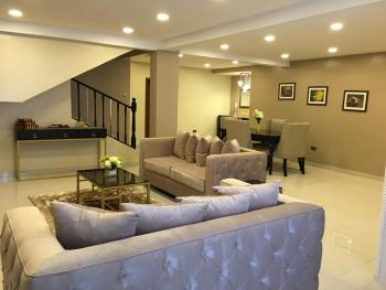 Super and Expatriate Luxury Furnished 4 Bedroom Apartment and a Room Bq with Excellent Facilities 24hours Light, Victoria Island Extension, Victoria Island (vi), Lagos, Terraced Duplex for Rent