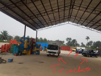 Nigerian Breweries Depot/warehouse with 5 Bedroom Flat, 5trucks, Between Umuagwa and Isiokpo, Ikwerre, Rivers, Warehouse for Sale