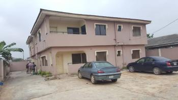 Solid Lovely Block of 4 Units of 3 Bedroom Flats Plus 4 Shops at The Front, Abiola Farm Estate, Ayobo, Lagos, Block of Flats for Sale