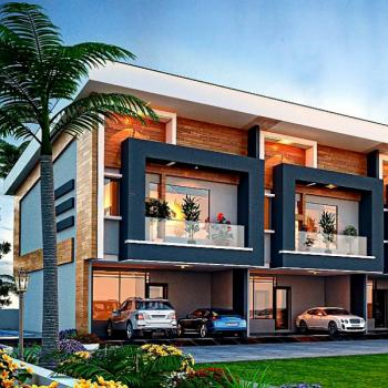 Luxury 4 Bedroom Terrace with a Payment Plan, Chevron Alternative Route, Off Chevron Drive, Lekki Phase 2, Lekki, Lagos, Terraced Duplex for Sale