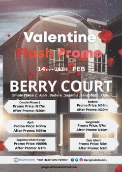Berry Court  , Isheri, Opic, Isheri North, Lagos, Land for Sale