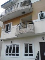 Executive Serviced 4 Bedroom Terrace Town House + Boys Quarters, Alagomeji, Yaba, Lagos, 4 Bedroom House For Rent