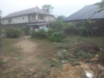 Half 1/2 Plot of Land in Well Developed Estate, Diamond Estate, Rumuduru, Port Harcourt, Rivers, Residential Land for Sale