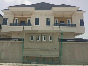 Exquisitely Finished 4 Bedroom Semi Detached Deluxe Duplex with Bq (a Pay & Pack-in Duplex) All for Sale, Elis Court Estate with Bq at Chevron Alternative Route Lekki Lagos, Lekki Phase 2, Lekki, Lagos, Semi-detached Duplex for Sale