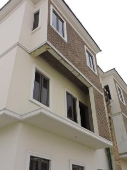 Newly Built 4 Bedroom Terraced House, Canal View Estate, Osapa, Lekki, Lagos, Terraced Duplex for Sale