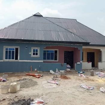 New Built 1 and 2 Bedroom Bungalow on Plot of Land, Igboetche Road, Rumuokwurusi, Port Harcourt, Rivers, Detached Bungalow for Sale