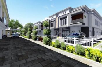 Luxurious 4 Bedroom Terrace, Before Vgc, Lafiaji, Lekki, Lagos, Terraced Duplex for Sale