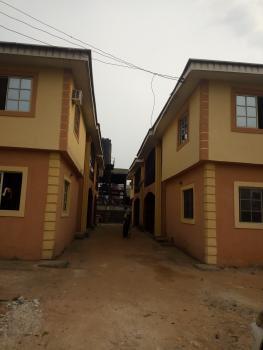 Standard 8 Units of 3 Bedroom Flat with 4 Toilets in Each., Behind Asaba Aluminum, Across Benin/ Asaba Express Way, Asaba, Delta, Block of Flats for Sale