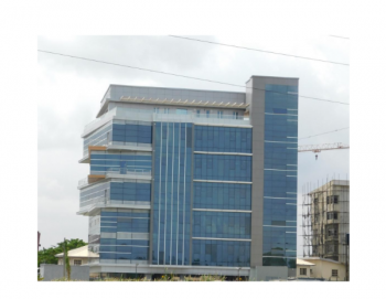 Newly Built Open Plan Office Space Measuring 462 Square Metres, Mapel Street, Osborne Phase 2, Osborne, Ikoyi, Lagos, Office Space for Rent