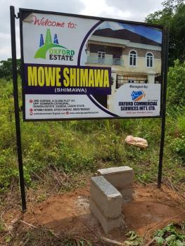 Shimawa Oxford Estate, Beside Rccg New Auditoruim, Lagos Ibadan Express Way, Simawa, Ogun, Residential Land for Sale