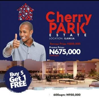 Cherry Park Estate Ibeju Lekki, Ilamija, Close to Lekki Intl Airport, Ibeju Lekki, Lagos, Land for Sale