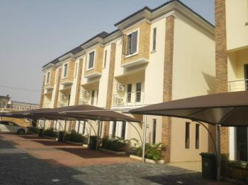 4 Bedroom Duplex with a Room Bq (16hrs (24hrs Weekends) Power, Swimming Pool & Gym), Osapa, Lekki, Lagos, Terraced Duplex for Rent