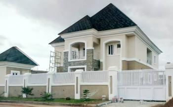 Exquisitely Finished 5-bedroom Detached House with 2-room Boys Quarters and Swimming Pool, Dr. Fabian Nwaora Avenue, Efab Metropolis, Karsana, Abuja, Detached Duplex for Sale