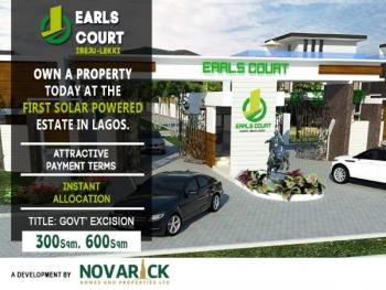 First Solar Powered Estate in Nigeria.(few Plots Left), Eleranigbe, Ibeju Lekki, Lagos, Residential Land for Sale