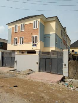Newly Built and Well Finished and Spacious 3 Units of 4 Bedroom Semi Detached with a Study Room, Behind Mfm Freedom Way, Ikate Elegushi, Lekki, Lagos, Semi-detached Duplex for Rent