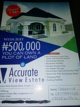 Accurate View Estate, Azagba-ogwashi, Delta State Polytechnic Axis, Aniocha North, Delta, Mixed-use Land for Sale