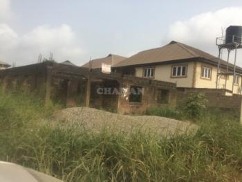 Uncompleted 4 Bedroom Bungalow Along The Road, a Community Near Berger, Ojodu, Lagos, Detached Bungalow for Sale
