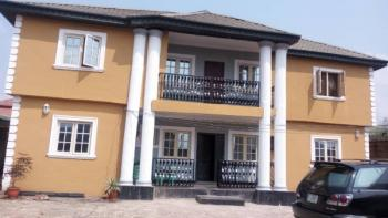 7 Bedroom Duplex on a Plot of Land with Space, 4 Rooms Upstairs and 3 Room Downstairs, Diamond Estate, Off Command Road, Ipaja, Lagos, Detached Duplex for Sale