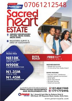 Sacred Heart Estates, Onitsha, Anambra, Mixed-use Land for Sale