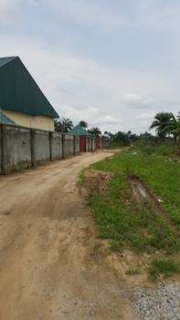 a Plot of Land with Dwarf Fence, Along Igbo-etche Road, After The Police Checkpoint By Kaana Filling Station, Opposite The Football Field, Etche, Rivers, Residential Land for Sale